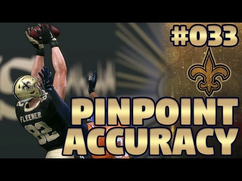 Madden NFL 17 New Orleans Saints Franchise Ep. 33 | Pinpoint Accuracy (Recap)