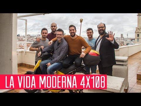 La Vida Moderna 4x108...es que el yayo te ayude a cruzar la calle mientras tú tuiteas