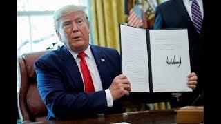 白宫要义(黄耀毅):特朗普宣布对伊朗实行新制裁