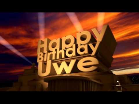 Happy Birthday Uwe