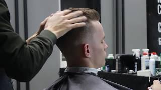 Урок для парикмахеров/Самая продаваемая мужская стрижка ка короткие волосы/Стрижка ножницами