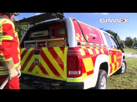 GIMAEX RIV (Rapid Intervention Vehicle) VW Amarok
