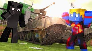 Minecraft: INVADIRAM MEU TANQUE ‹ Apocalipse › #4