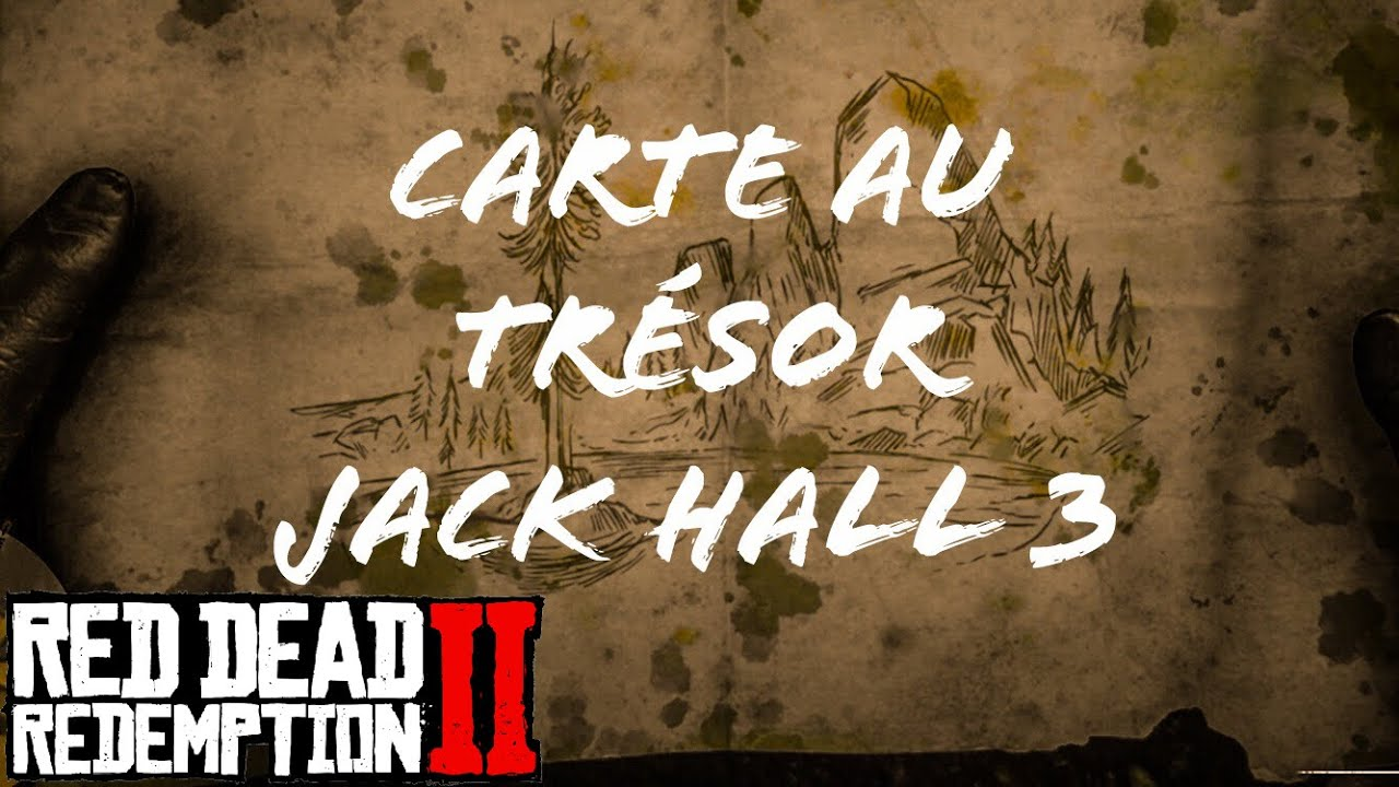 Carte Au Tresor Otis Miller.Red Dead Redemption 2 Carte Au Tresor Jack Hall Carte 3 Youtube