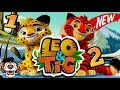 Leo and Tig 2 in English games for kids download free play online Taiga tale video 1 series Swamp