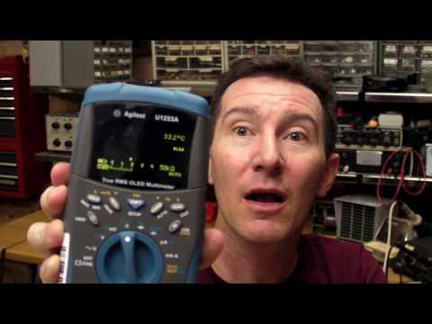 EEVblog #56 - Agilent U1253A OLED Multimeter Review & Teardown