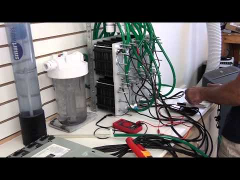 Green Fuel H2o HHO 354 Plate Monster Hydrogen Generator Build Part 7