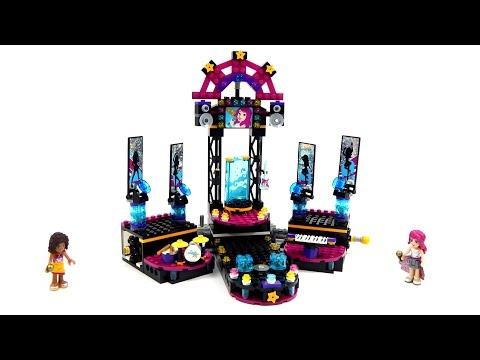 Lego Friends 41105 Pop Star Show Stage Speed Build
