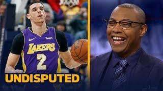 Caron Butler is 'extremely impressed' with Lonzo Ball's rookie season with the Lakers | UNDISPUTED