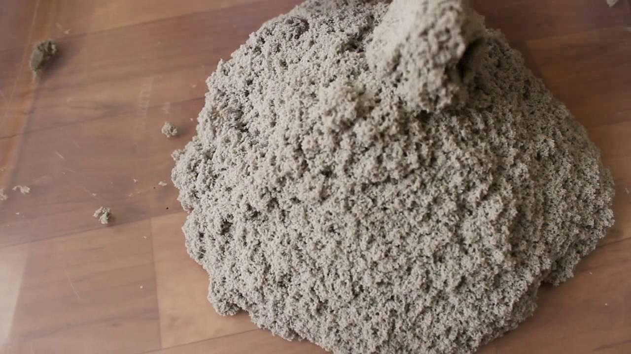 Как хранить кинетический песок - YouTube