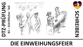 Deutsch Lernen B1 Prüfung Brief übungen