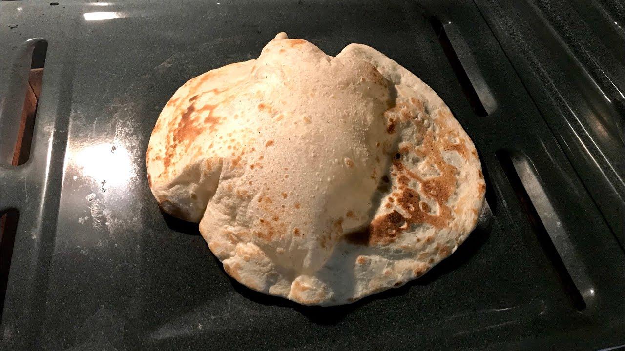 Yemeni Tanoor Bread خبز التنور اليمني بالفرن Youtube