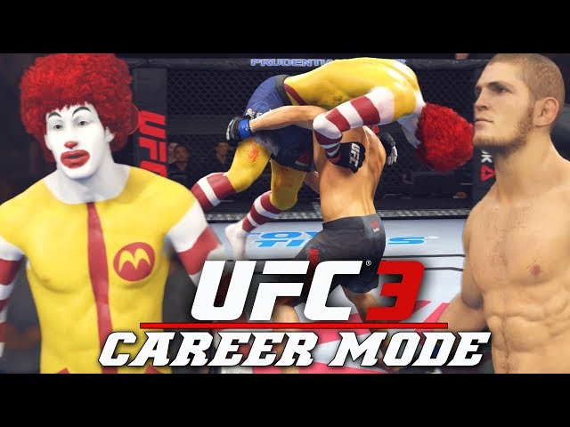 Ronald McDonalds BIGGEST Fight In The UFC! EA Sports UFC 3 Career Mode