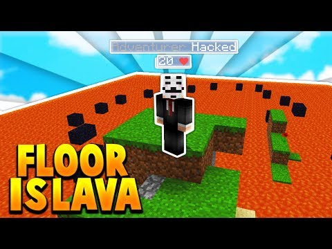 ESCAPE THE LAVA ISLAND! (Catching Hackers Trolling)