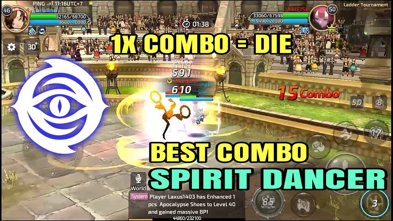 Combo Spirit Dancer! Playstyle By Hypnotice on Arena Ladder