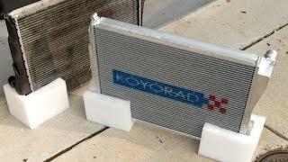 homepage tile video photo for KoyoRad vs Factory E46 M3 Radiator