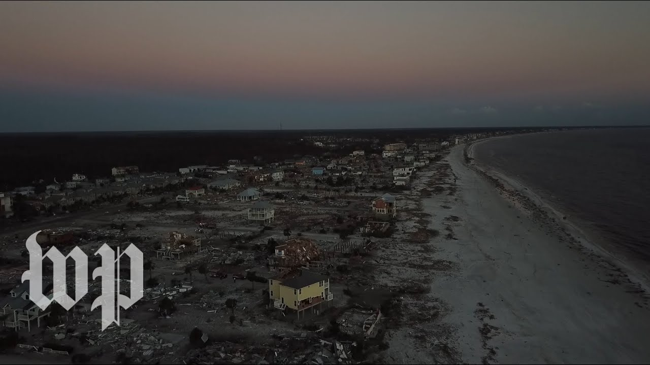 'This is what they call devastation:' Mexico Beach after Hurricane Michael