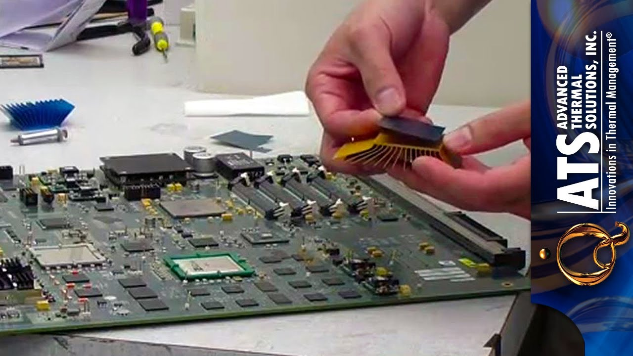 How to apply thermal interface material thermal tape youtube for Thermal watches