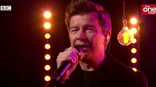 Rick Astley - Never Gonna Give You Up (Live On The One Show)