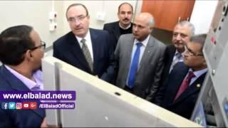 محافظ بني سويف يفتتح مقر بنك الدم الإقليمي الجديد شرق النيل.. فيديو وصور