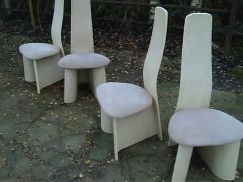 Funky retro seventies gplan table and chairs