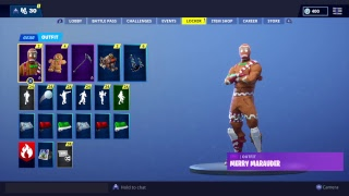 Fortnite PS4 - Buying Gingy! Use code Lazarbeam