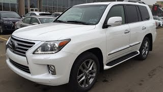 2015 Lexus LX 570 4WD Review