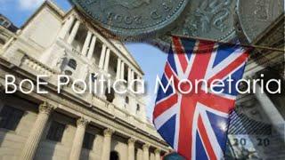 BoE decisión Política Monetaria Preview