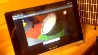 Online урок на планшете №3