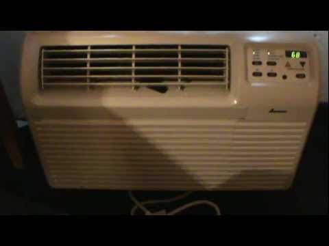 Amana Digital In Wall Air Conditioner Amp Some Fans Youtube