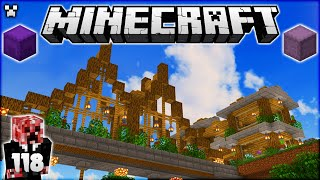I Made an EPIC Wood Bridge! | Minecraft Survival Let's Play