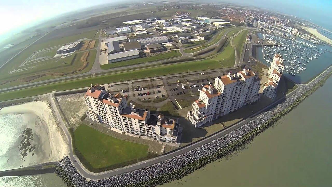 Breskens vanuit de lucht deel 3 dji phantom 2 drone zenmuse gopro zeeland nederland europe - Lucht treca veer ...