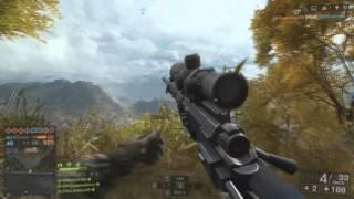 BF4 Quickscope Sniper #1 PRIMEIRO VIDEO DO ANO