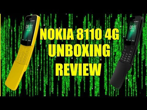 Nokia 8110 4G Unboxing & Full Review UK