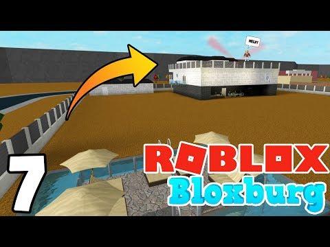 CAUGHT SNEAKING NEAR A MANSION! | Roblox BLOXBURG | Ep.7