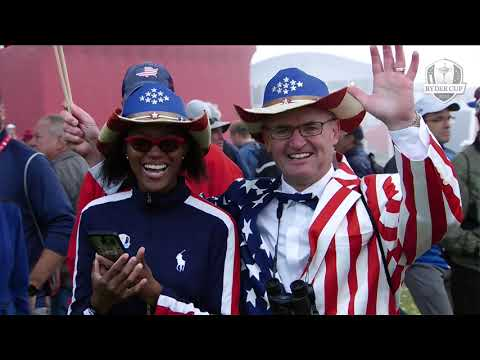 Fans at the Ryder Cup - a masterpiece. 60 days to go!