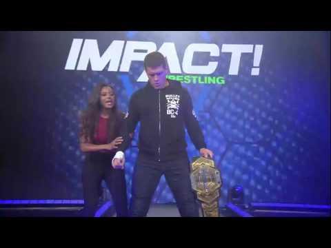 Moose vs. Eli Drake.... Enter Cody | IMPACT March 23rd, 2017