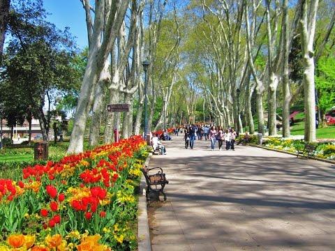 Istanbul - Gülhane Parkı [ HD Video ]