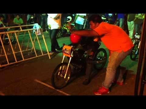 MUSC Drag Race Sg Petani 2011 -  Honda Wave (JTX) VS Nova Dash (Hyperspeed).MOV