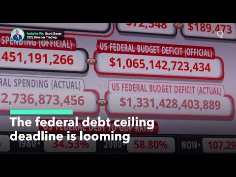 U.S. Debt Ceiling Deadline Looms