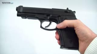 Beretta Elite II CO2 Pistole 4,5 mm BB, schwarz CO² Waffentest, www.waffenfuzzi.de
