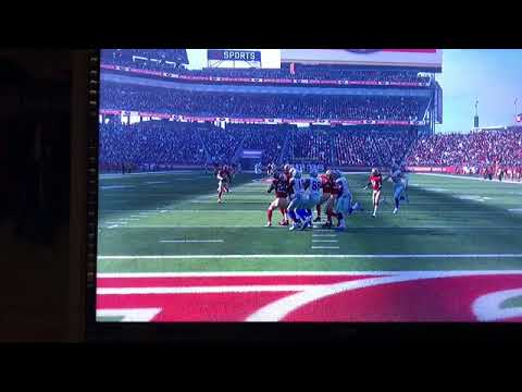 MUST WATCH! RYAN SWITZER CATCHES HAIL MARY AT END OF 1st HALF! Madden 18 #PlayOfTheYear