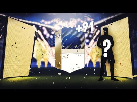 FIFA 18 - ON PACK UNE ENORME ICONE DANS UN PACK A 7500 CREDITS !!!