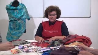 Елена Макарова. Авторская техника палантинов-паутинок