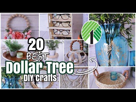 20 Best DOLLAR TREE DIY High End Crafts of 2020!