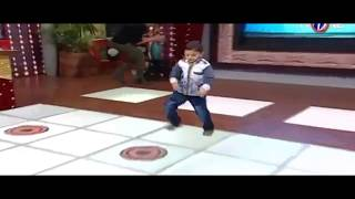 Amazing Dance performance in air by A cute Kid ..(Laila main laila)