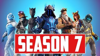 Fortnite Season 7 Is Out NOW! (NEW MAP, BATTLE PASS, SKINS, WRAPS, AND MORE!)
