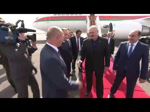 Прибытие в ереванский аэропорт Звартноц