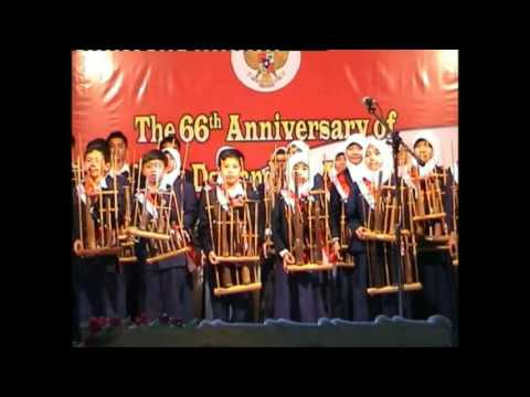 The Best ANGKLUNG – Indonesia Pusaka – by Indonesian Embassy School in Riyadh
