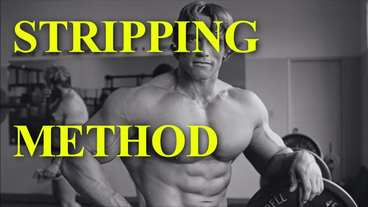 Stripping method by arnold schwarzenegger shock your muscle youtube stripping method by arnold schwarzenegger shock your muscle malvernweather Choice Image